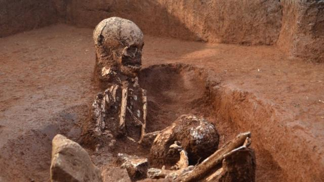 Ancient Human Remains Found At Plain of Jars In Laos