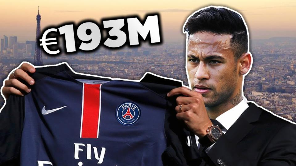 Neymar to PSG for €193m?
