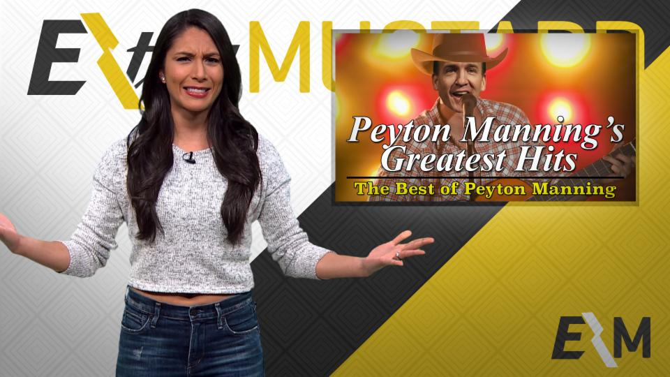 Mustard Minute: Listen to 'Peyton Manning's Greatest Hits: The Best of Peyton Manning'