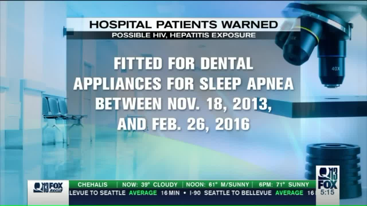 Patients Possibly Exposed to Hepatitis, HIV at Washington Hospital