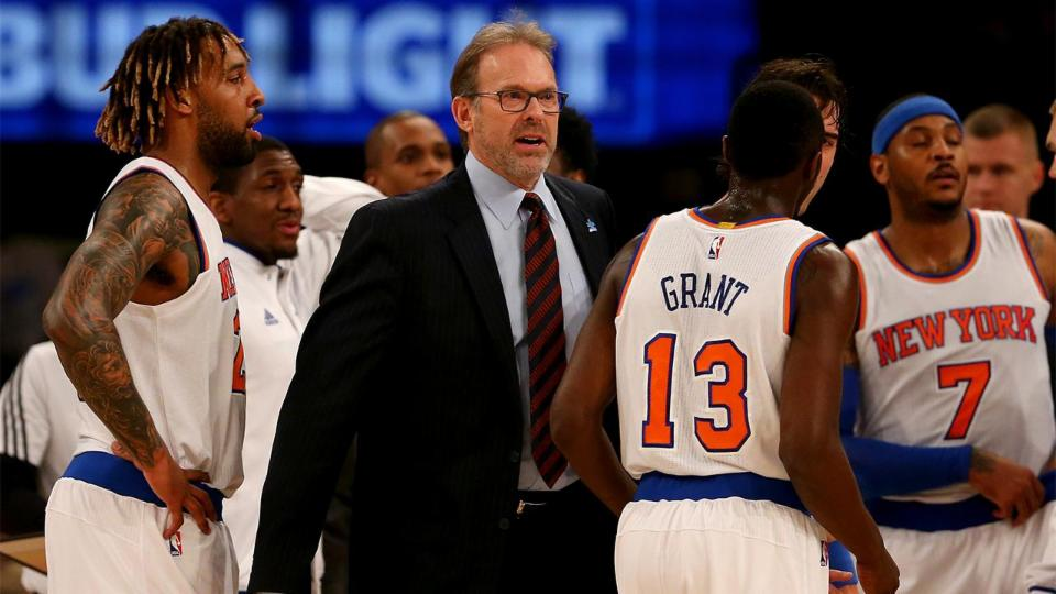 Phil Jackson Pushing Knicks to Keep Kurt Rambis as Head Coach