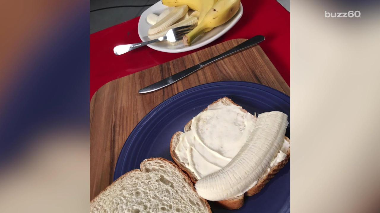 Dale Earnhardt Jr.'s banana and mayo sandwich is NOT a winning combo
