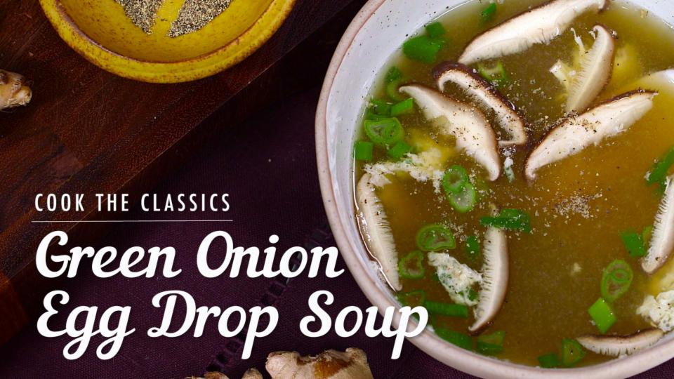 How to Make Classic Egg Drop Soup