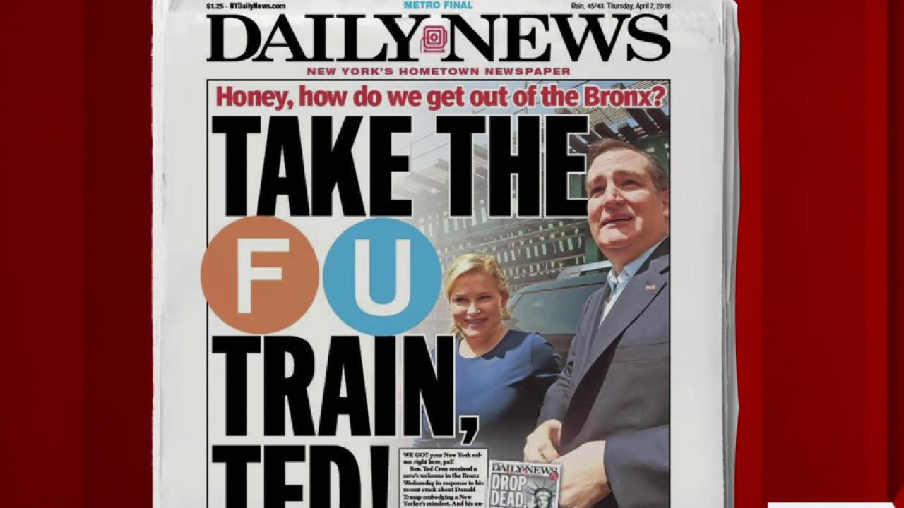 NY Paper Tells Cruz Where He Can Really Go