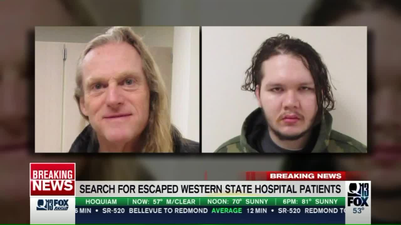 Two 'Dangerous' Men Escape from Mental Hospital in Washington