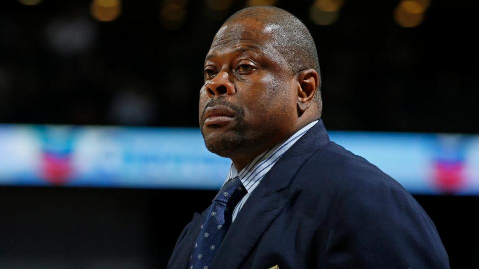 Patrick Ewing pitches himself for Knicks head coaching job