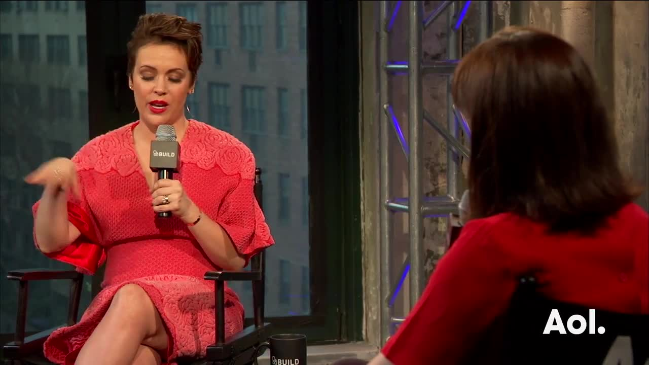 "Alyssa Milano On ""Project Runway All Stars"""