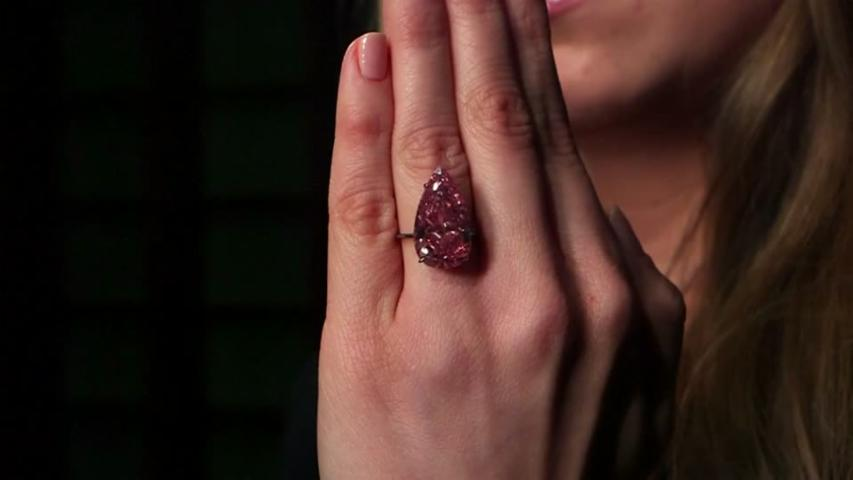 Rare pink diamond to fetch millions
