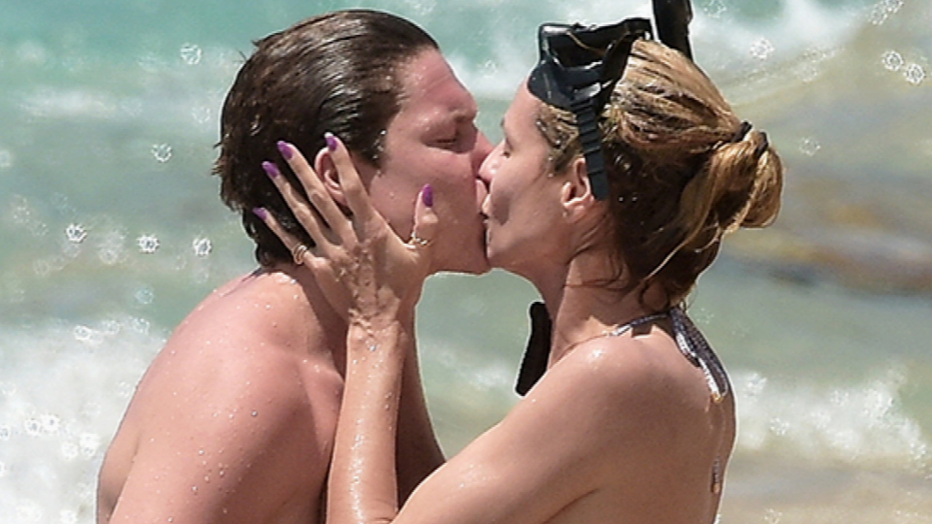 Heidi Klum Has No Shame in Her PDA Game