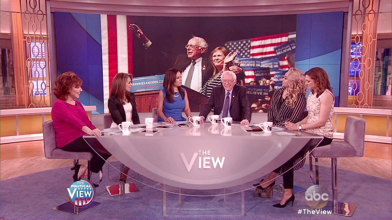 Bernie Sanders Reveals His Celebrity Crush is 'The View' Co-host Joy Behar