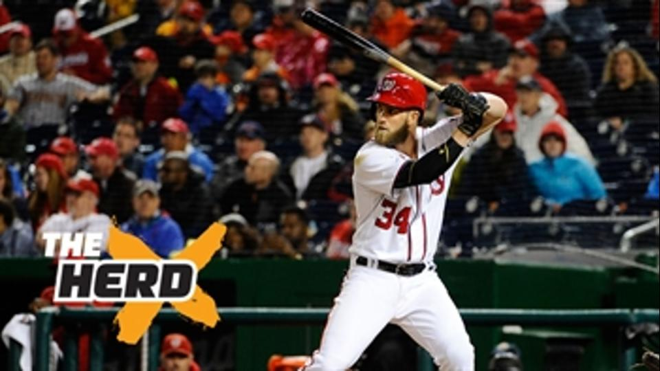 Here's why we should embrace Bryce Harper - 'The Herd'