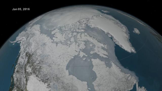 The North Pole Is Moving Toward the UK; Is Climate Change to Blame?