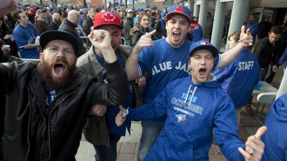 Blue Jays fans hope for an 'incredible year'