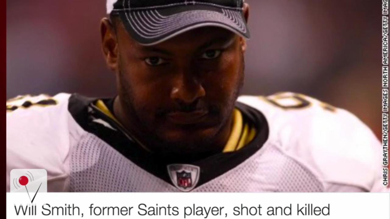Former NFL player Will Smith shot to death in road-rage altercation
