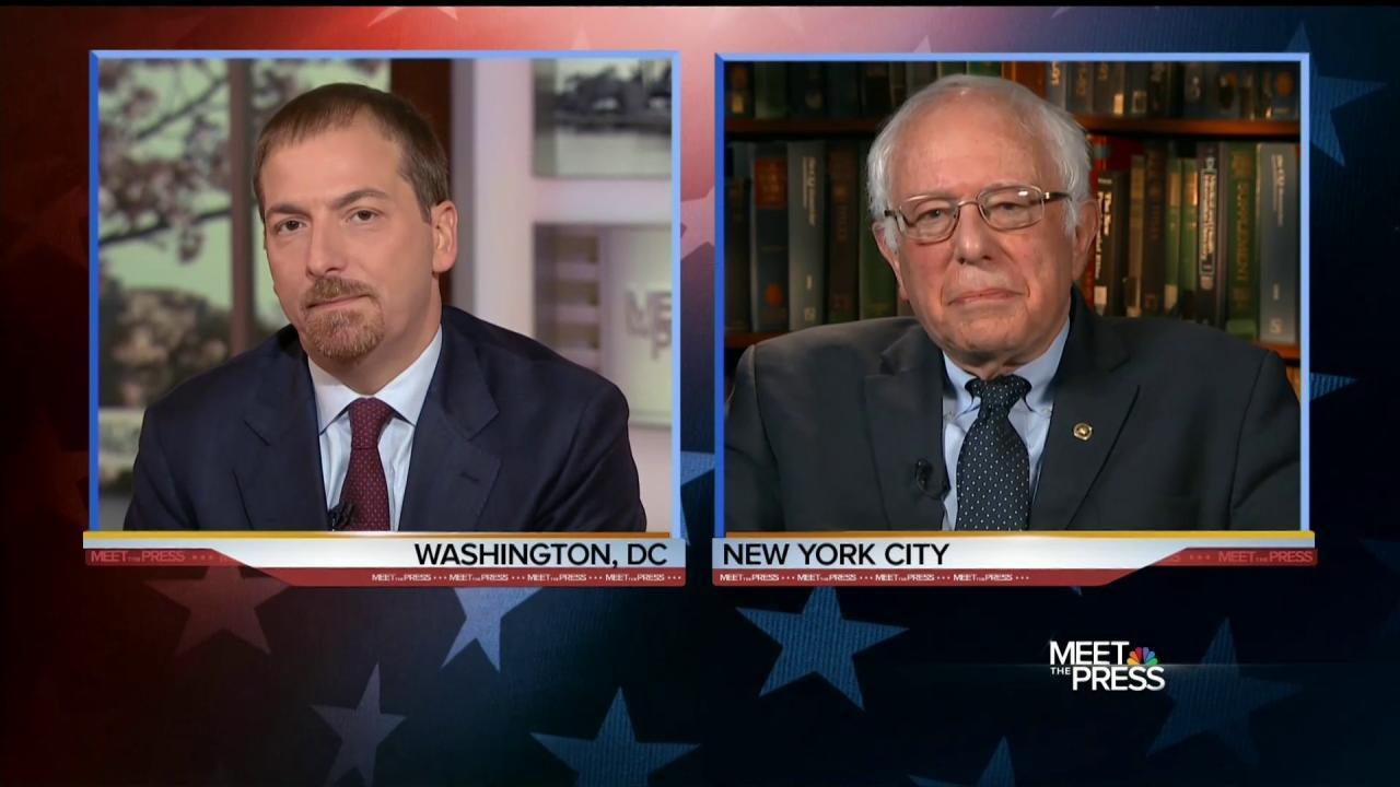 Sanders Says Clinton Is Qualified, But Lacks Judgment