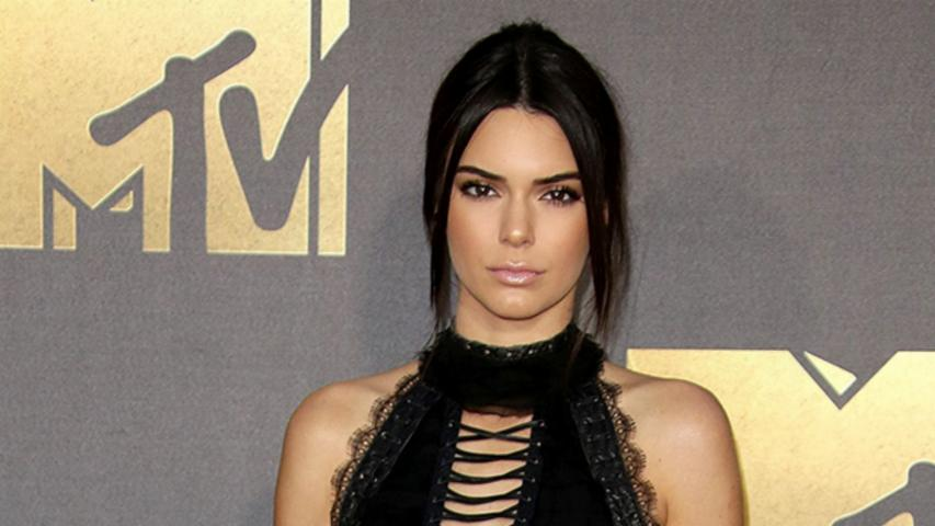 Kendall Jenner's Lace-Up Heels Steal the Show