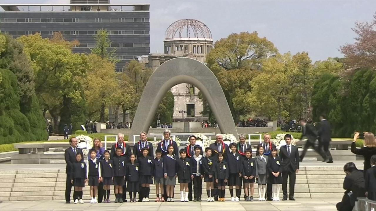 John Kerry makes historic visit to Hiroshima