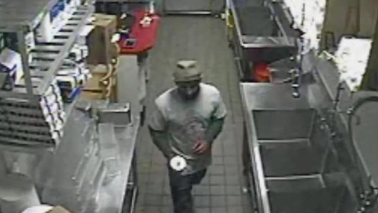 Man Sneaks Into Five Guys, Proceeds To Make Cheeseburger