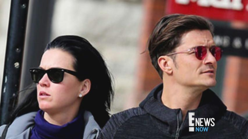 Katy Perry and Orlando Bloom Arm in Arm in Aspen