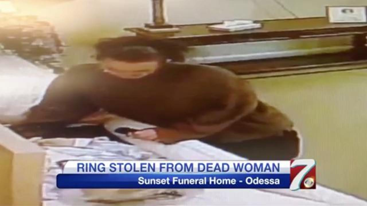 Ring Stolen From A Deceased Woman's Finger At Texas Funeral Home