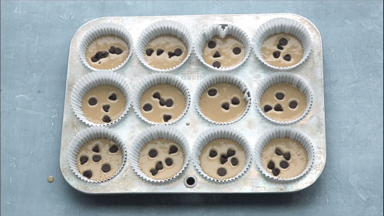How To Make Blender Banana Muffins