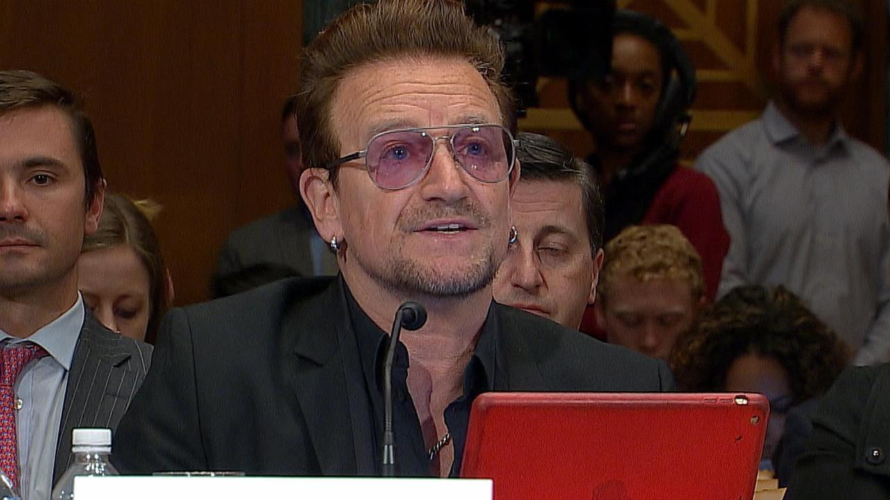 Bono Testifies Before Congress on Immigrant Crisis