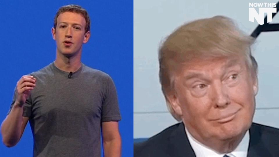 Mark Zuckerberg Kind Of Calls Out Trump