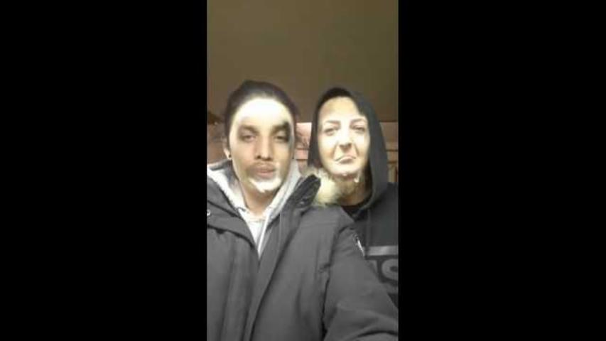 Vaping Face Swap Turns Couple Into Chuckling Pair of Ghosts