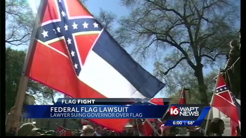 State flag fight goes to court