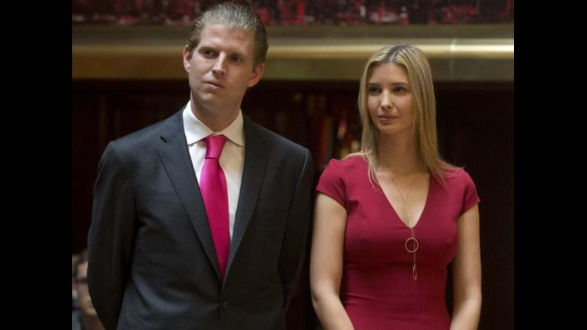Donald Trump's Children Can't Vote In New York Primary
