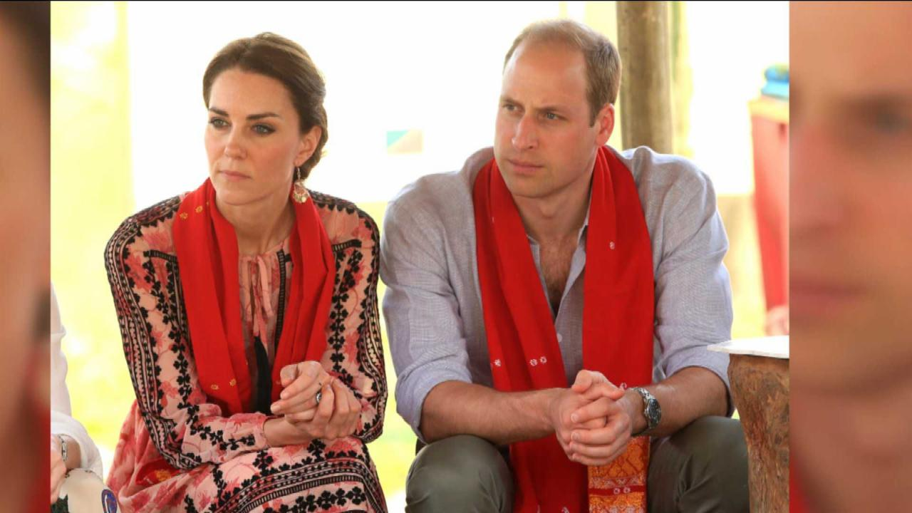 Kate Middleton and Prince William Caught In an Earthquake
