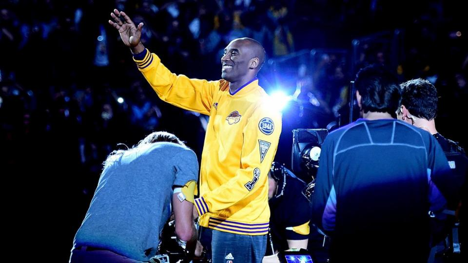 Kobe Bryant video tribute includes former players and Hollywood cameo