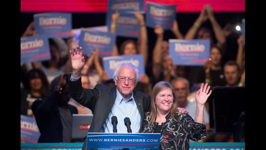Jane Sanders: Bernie and I Will Support Hillary Clinton if She Wins