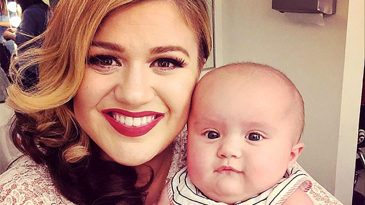 Kelly Clarkson Gives Birth to a Baby Boy with the Cutest Name