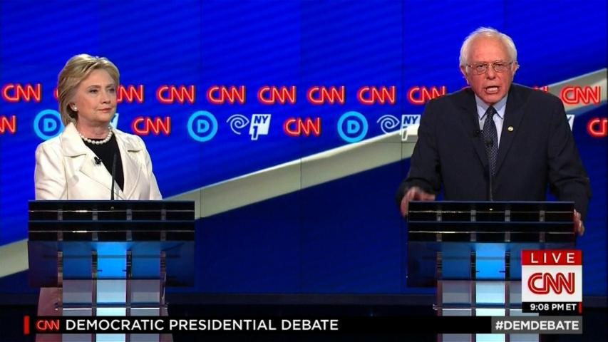 Clinton: Sanders attacking Obama over Super PACs