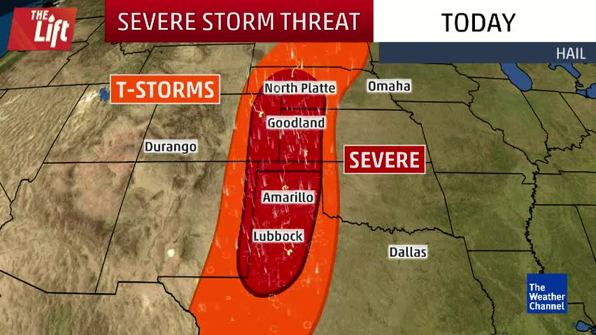 Severe Weather Threatens West Texas