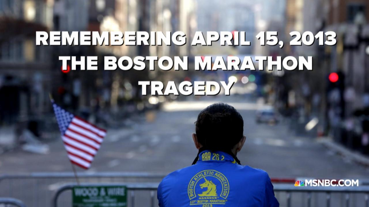 Remembering the Boston Marathon tragedy