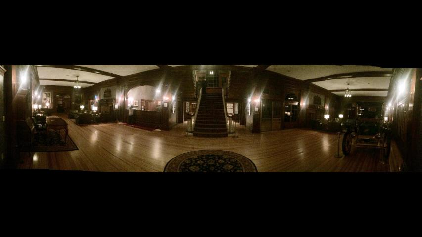 Paranormal Panorama: Guest Captures Ghostly Figure in 'Shining' Hotel