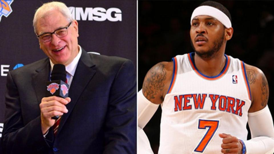 Phil Jackson and Carmelo Anthony: Will They Ever Agree?