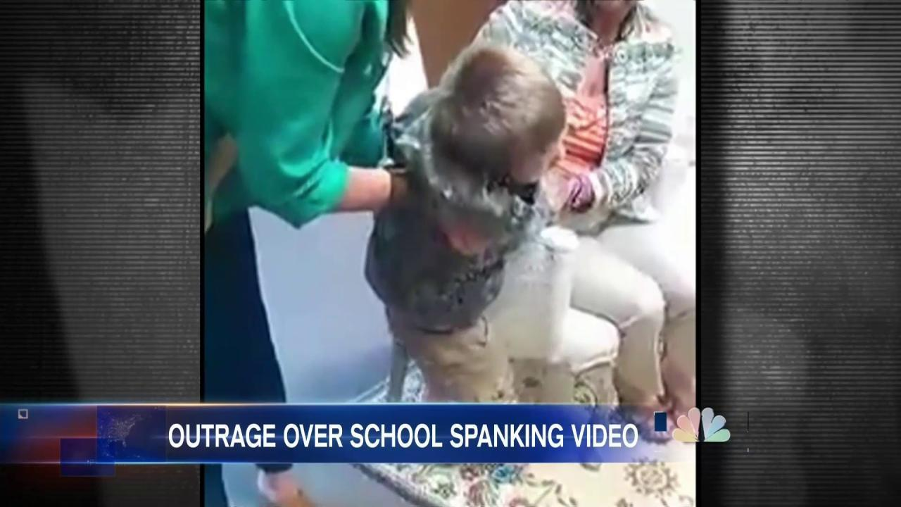 Video of School Spanking Re-Ignites Debate Over Corporal Punishment