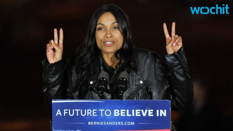 Report: Rosario Dawson Arrested at Political Rally
