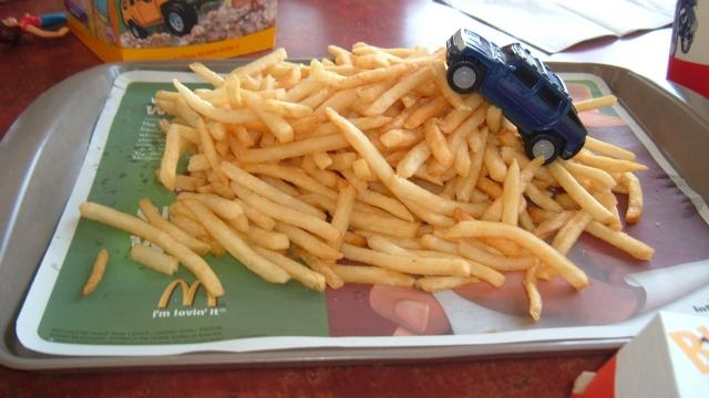All-You-Can-Eat French Fries Might Be Key to a Less Boring McDonald's