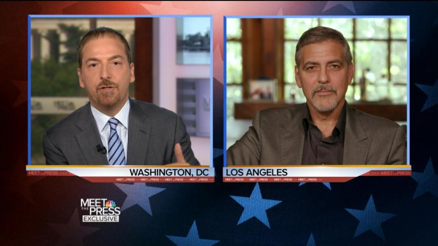 Clooney on Clinton Fundraiser: 'It's an Obscene Amount of Money'