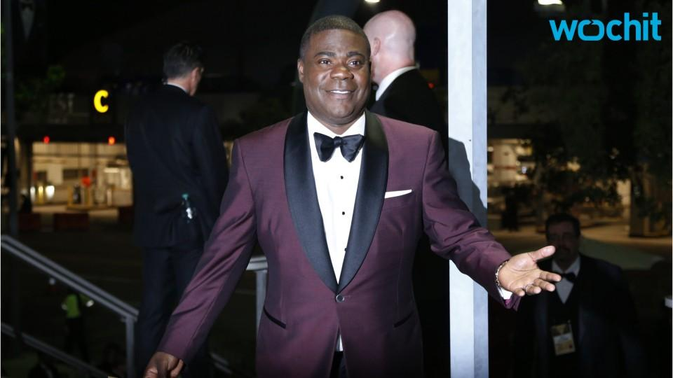 Tracy Morgan does comedy show for medical staff