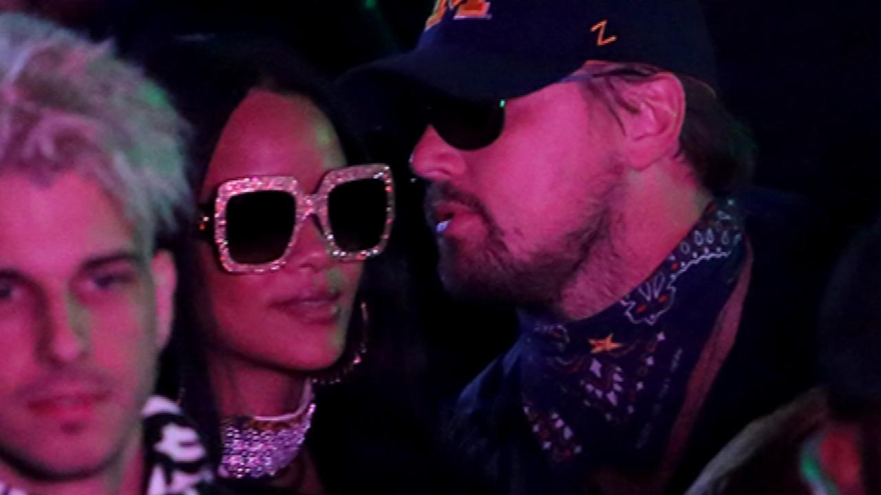 Rihanna and Leonardo DiCaprio Reunite at Coachella