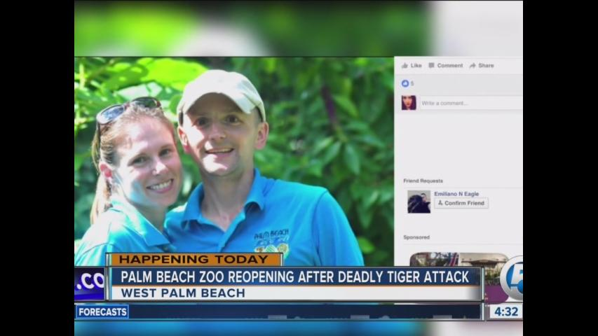 Palm Beach Zoo reopening today