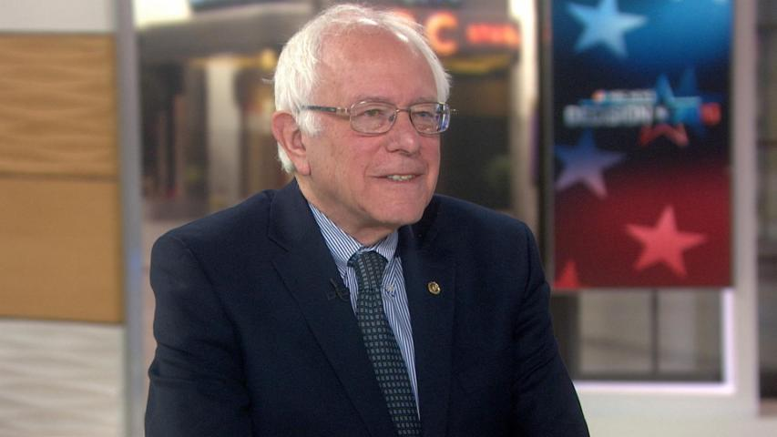 Bernie Sanders: Trump's 'crooked Hillary' name is an 'ugly statement'