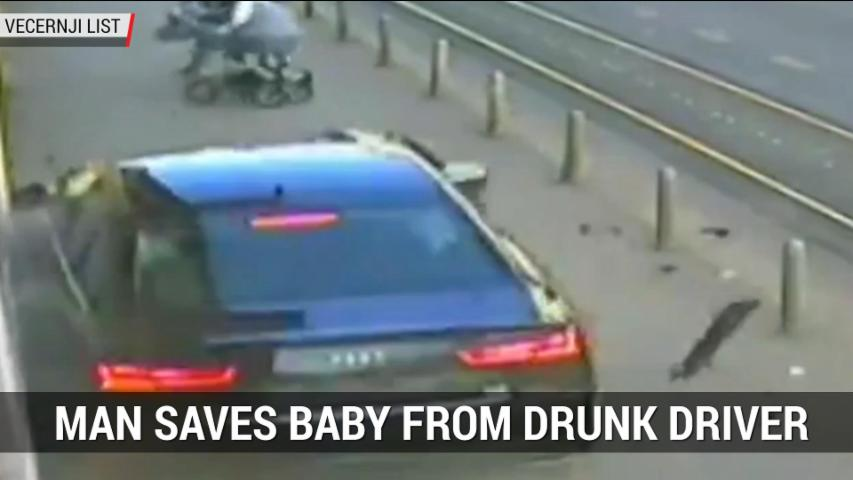 Man Saves Baby From Drunk Driver | Autoblog Minute