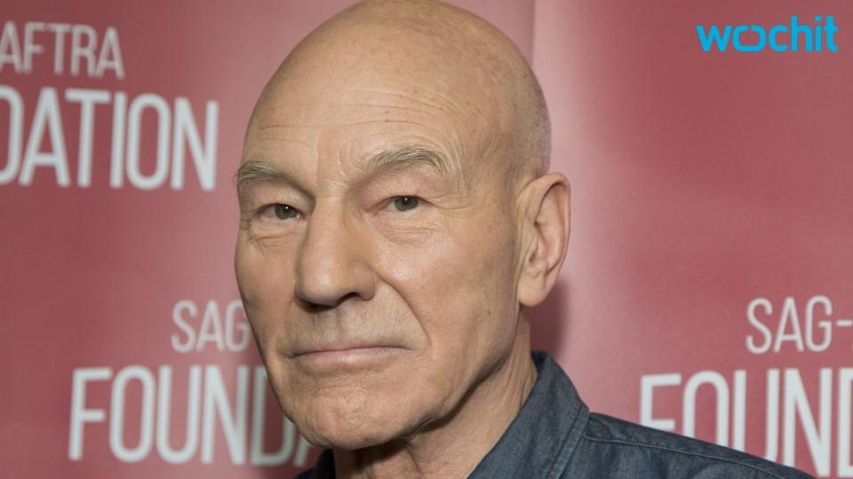 Patrick Stewart Tweeted a Picture of Himself in Drag and Twitter Went Into Meltdown