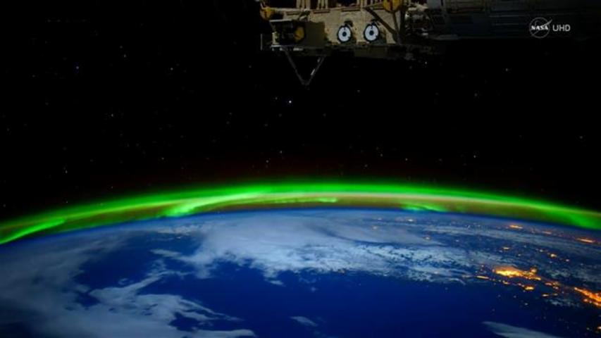 Stunning NASA Video of Northern Lights From Space